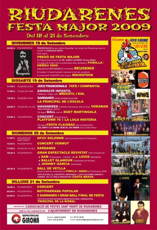 festamajorriudarenes2009