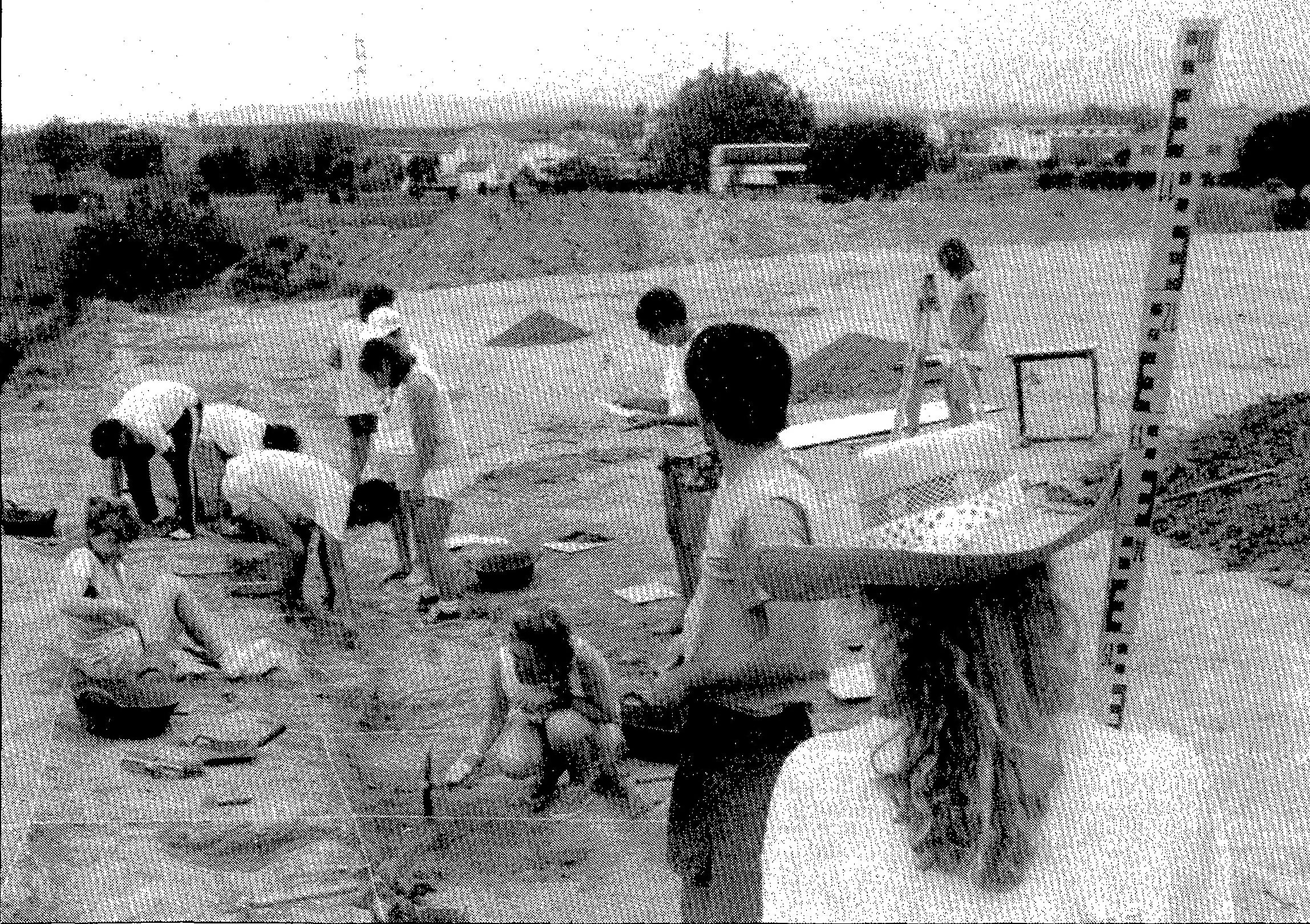 Foto: Pere Duran. Diari de Girona, 5 juliol 1989